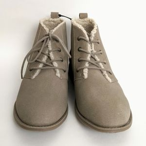 """Sonoma Women's Taupe """"Marbling"""" Booties"""